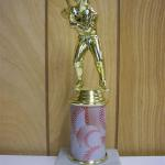 Trophy 269 Size and color of column can be customized