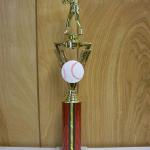 Trophy 273 Size and color of column can be customized