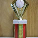 Trophy 283 Size and color of column can be customized