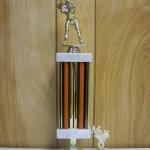 Trophy 247 Size and color of column can be customized