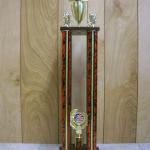 Trophy 462 Size and color of column can be customized