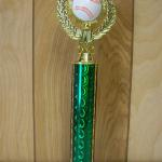 Trophy 652 Size and color of column can be customized