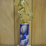 Trophy 261 Size and color of column can be customized