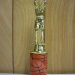 Trophy 040 Size and color of column can be customized