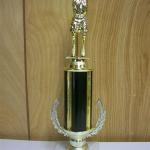 Trophy 045 Size and color of column can be customized