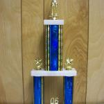 Trophy 059 Size and color of column can be customized