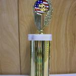 Trophy 236 Size and color of column can be customized